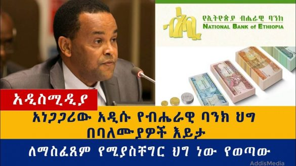 Ethiopian National Bank rules – AddisMedia Business